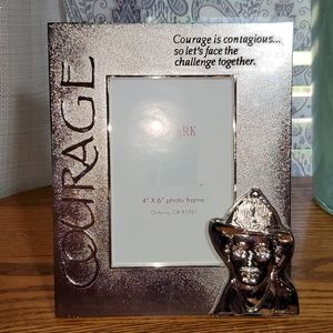 Courage Fire Fighter Photo Frame